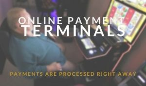 Online payment terminals, payments are processed right away1